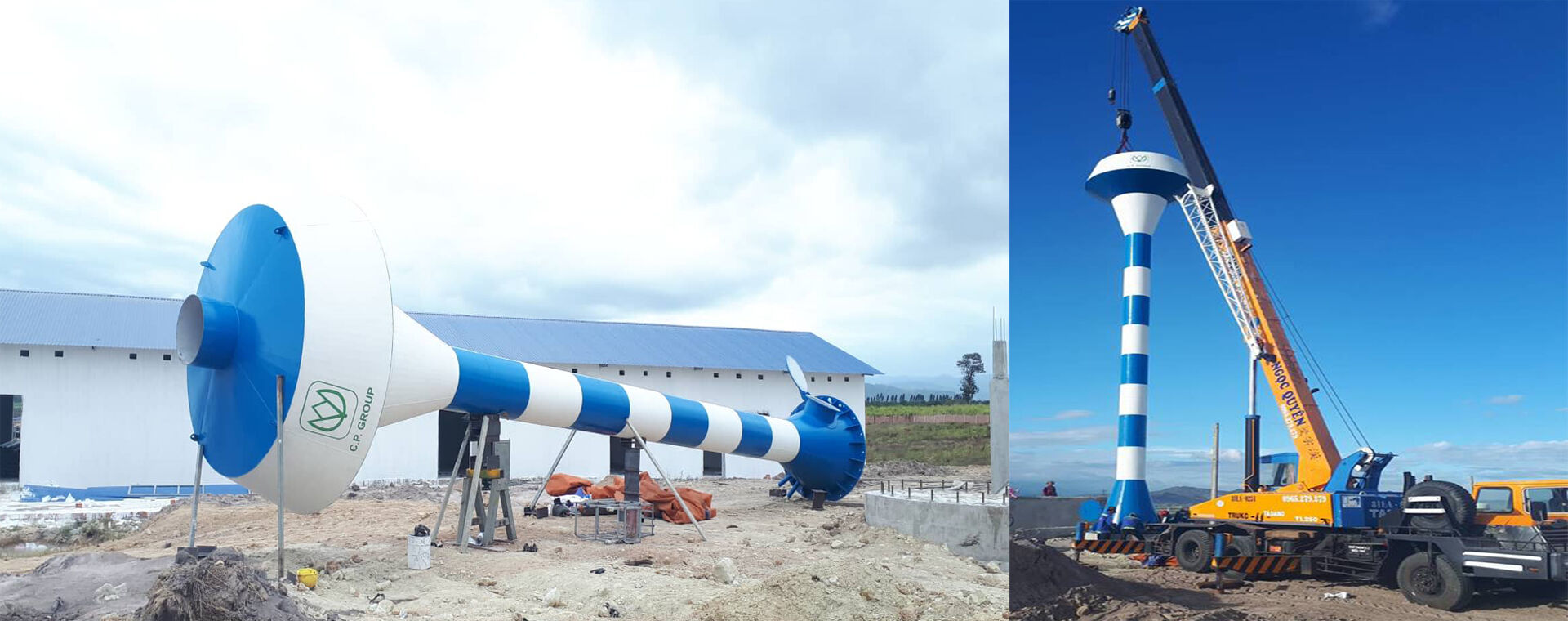 Manufacture and Install Water Tower